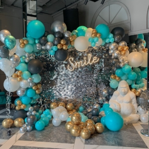tiffany-party-geburtstag-disco-paillettenwand-glitzerwand-verleih-frankfurt-globaldesire